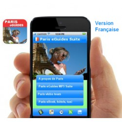 Paris eguides iPhone Fr